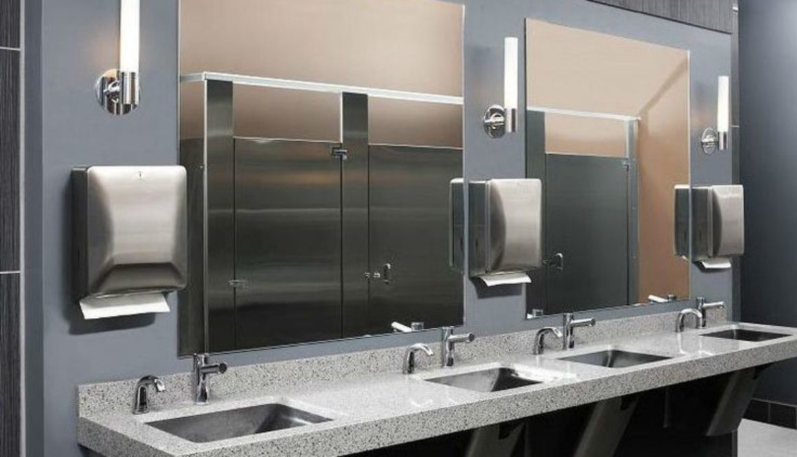 New Thinking In Commercial Restroom Designs To Keep Office Tenants Happy
